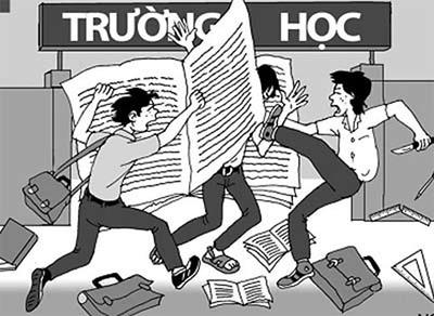 Báo động tình trạng bạo lực học đường ngày càng gia tăng