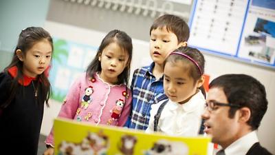 Cùng con vui học từ vựng tiếng Anh tiểu học