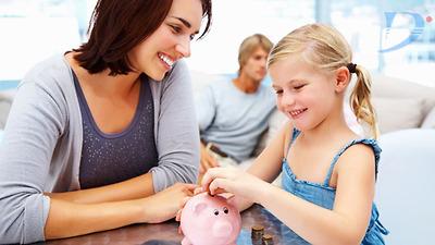 Dạy con cách chi tiêu và tiết kiệm tiền cho hợp lý