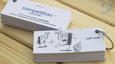 Học từ vựng tiếng tiếng Anh bằng thẻ Flashcard, bạn đã thử?