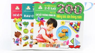 Giới thiệu sách:Bộ sách phát triển tư duy cho trẻ dưới 6 tuổi